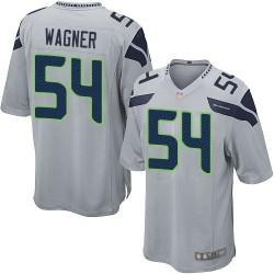 Game Men's Bobby Wagner Grey Alternate Jersey - #54 Football Seattle Seahawks