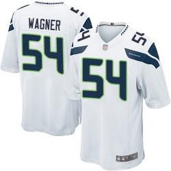 Game Men's Bobby Wagner White Road Jersey - #54 Football Seattle Seahawks