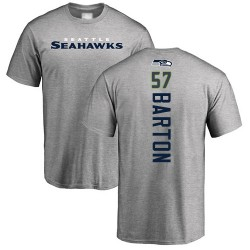 Cody Barton Ash Backer - #57 Football Seattle Seahawks T-Shirt