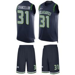 Limited Men's C. J. Prosise Navy Blue Home Jersey - #22 Football Seattle Seahawks 100th Season Vapor Untouchable