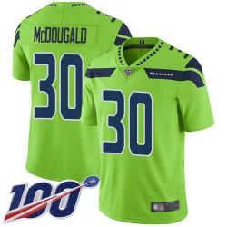 Limited Youth Bradley McDougald Green Jersey - #30 Football Seattle Seahawks 100th Season Rush Vapor Untouchable